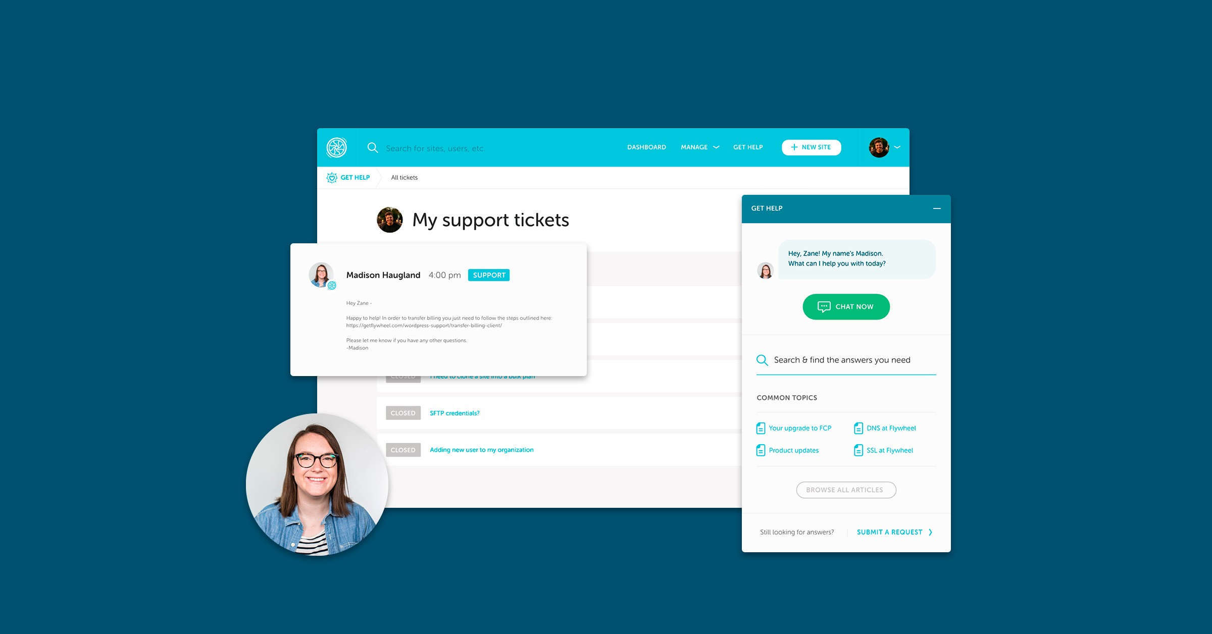 Introducing 24/7 support + a brand new in-app experience