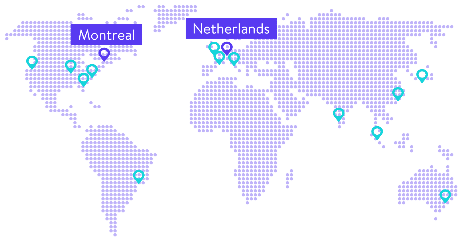 Montreal and Netherlands Data Centers are Now Available